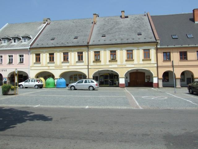 Letohrad - náměstí