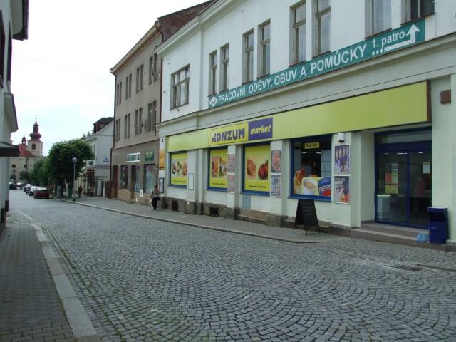 Vamberk - náměstí